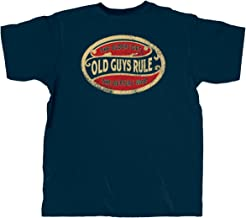 OLD GUYS RULE T Shirt for Men | The Older I Get. The Better I was (Oval) | Navy
