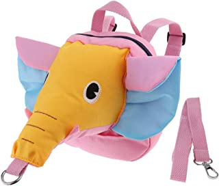 simhoa Baby Elephant Waking Safety Harness Anti-Lost Backpack - Yellow