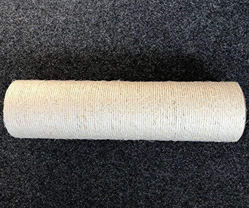 Bontoy - Tronco de sisal (90 x 640 mm, 1 Rosca Interior y 1 Rosca Exterior M10)