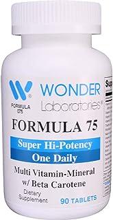 High Potency Daily Multivitamin with Vitamin A 25,000 IU as Beta Carotene - 90 Tablets