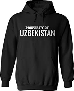 Property of UZBEKISTAN Adult Hoodie for Men and Women e2 S