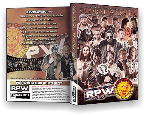 Official RPW / NJPW - Revolution Pro Wrestling & New Japan Pro Wrestling : Global Wars UK 2015 Event DVD