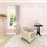 HANMEROBarroco diseño Papel pintado vintage flores Murales pared no tejido papel de...