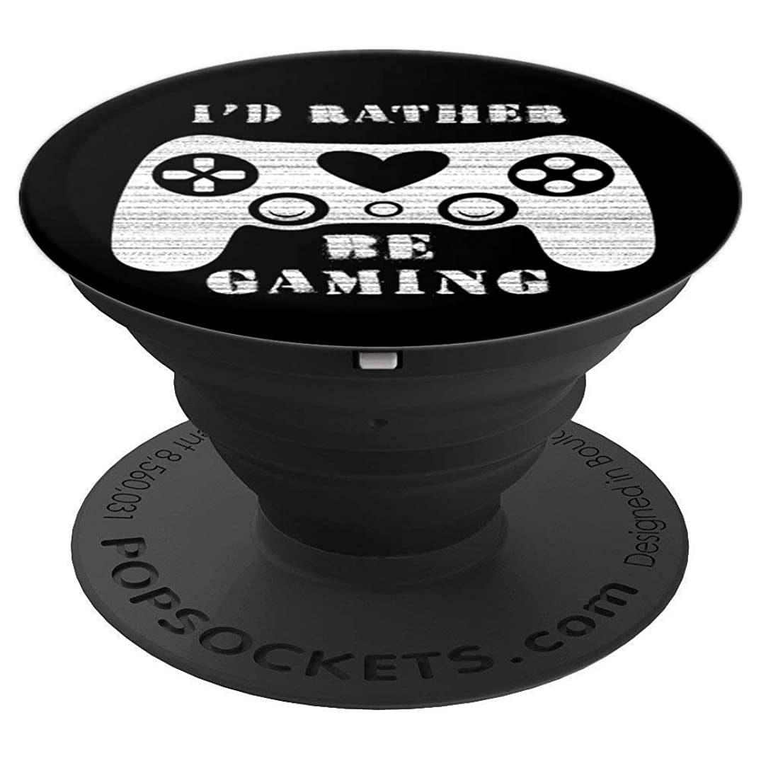 Pop Socket Video Game Design- Sarcastic Words for Nerd Gamer - PopSockets Grip and Stand for Phones and Tablets
