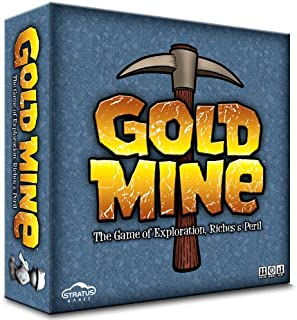 Gold Mine - A Fun and Competitive Tile Laying Board Game