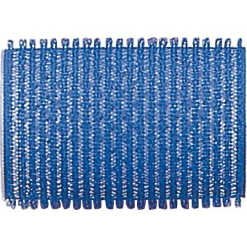 Fripac-Medis Le Coiffeur Lot de 12 Bigoudis Bleu Foncé Diamè