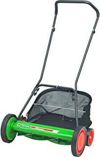 Scotts 20 in. Manual Walk Behind Reel Mower with Grass Catcher + Sharpening Kit