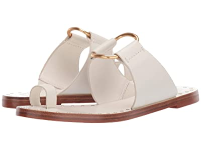 Tory Burch Ravello Studded Sandal (Perfect Ivory) Women