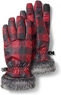 Sponsored Ad - Eddie Bauer Women's Sun Valley Down Gloves, Scarlet Regular S