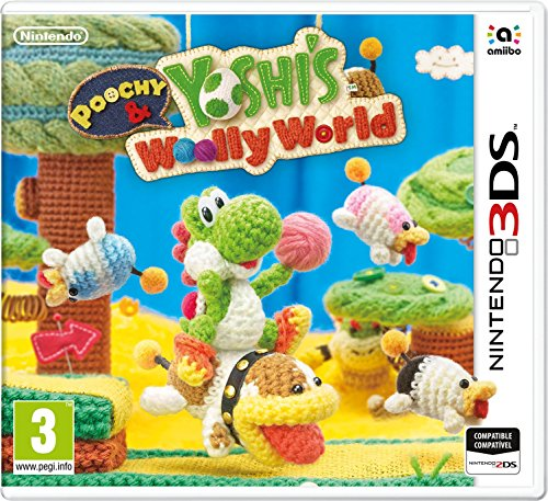 3DS Poochy and Yoshi