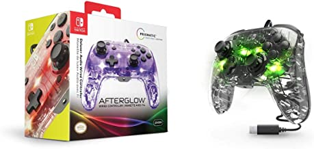 PDP Afterglow Deluxe + audio Wired Controller for Nintendo Switch, 500-132-NA - Nintendo Switch