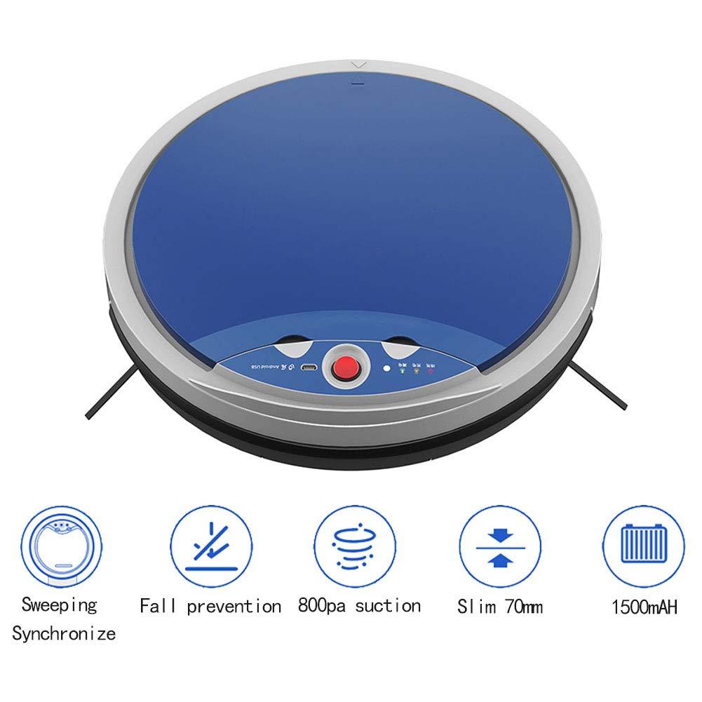 Robot Aspirador, Sensores Anticaída, 800Pa Potente Herramienta De ...