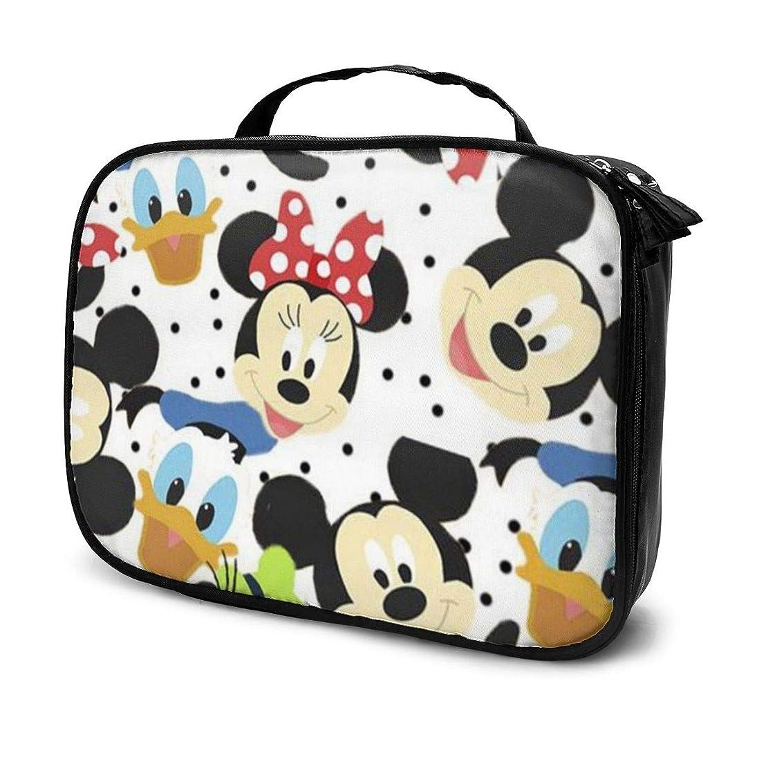 平均スクラッチブラザーDaitu漫画ミッキー 化粧品袋の女性旅行バッグ収納大容量防水アクセサリー旅行