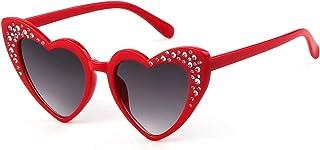 Heart Sunglasse Polarized Vintage Retro Cat Eye Oversized...