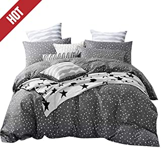 star pattern duvet cover