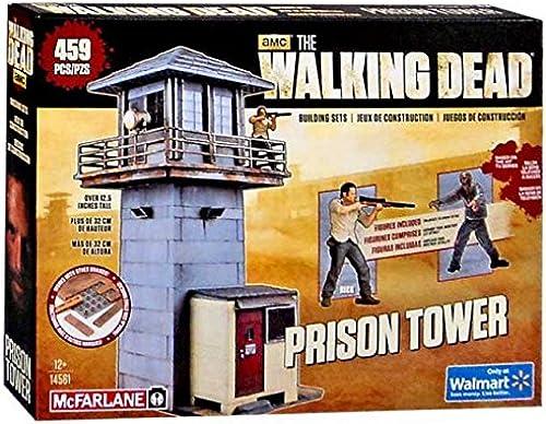 mejor servicio McFarlane Toys The The The Walking Dead AMC TV Series Prison Tower Exclusive Building Set  14561 by McFarlane Toys  ahorrar en el despacho
