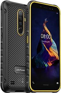 Teléfono Resistente Ulefone Armor X8, Android 10 Móvil IP68 Antigolpes, 4GB+64GB, 256GB SD Externa, 13MP Triple Cámara Sub...