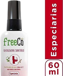 Bloqueador de Odores Sanitarios Freecô Especiarias 60 Ml, Freeco, 60 Ml
