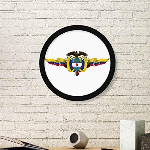 DIYthinker Amerika Colombia Vlag Nationaal Embleem Ronde fotolijst Art Prints Van Schilderijen Thuis Muursticker Gift