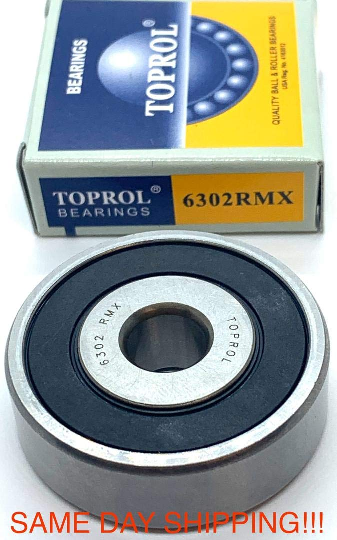 New TOPROL cheap Idler Pulley Bearing Sale for Lexus 6302RMX Toyota 6302-10