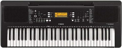 Yamaha PSR-E363 – Clavier électronique avec toucher dynamique – Instrument de musique portable pour débutants exigean...