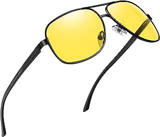 نظارات شمسية مستطيلة الشكل للرجال من جوبين، نظارات شمسية بإطار معدني من الألمونيوم والماغنسيوم لقائد الطيارات العسكرية، حم...