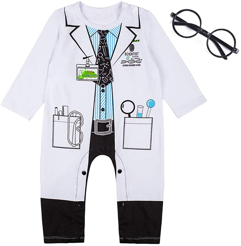 Baby Boys' Doctor Be super welcome Bodysuit San Jose Mall Costume