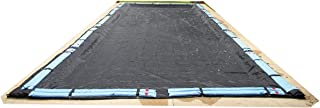 Blue Wave Rectangular Rugged Mesh In Ground Pool Winter Cover