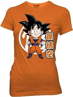 Ripple Junction Dragon Ball Z Goku Chibi with Kanji Adult T-Shirt