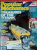 POPULAR MECHANICS Magazine December 1987 Volume 164 No. 12 (Treasures of the Titanic, Hot Rod Haulers, Antique solid ash toboggan, roller skates with ski boot design)