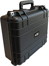 Ibex Cases 1505 (Black) Hard Protective Case with Foam - Watertight Camera Case for Electronics, Equipment, Tools