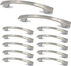 FGen 12pcs Aluminum Alloy Die-Casting Handle Cabinet Drawer Door Handle
