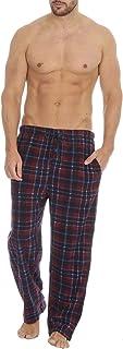 Style It Up Mens Lounge Pyjama Pj Pant Bottom Tartan Check Plain Nightwear Soft Warm Fleece