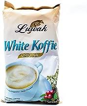 Kopi Luwak White Koffie Original (3 in 1) Instant Coffee 10-ct, 200 Gram (Pack of 4)