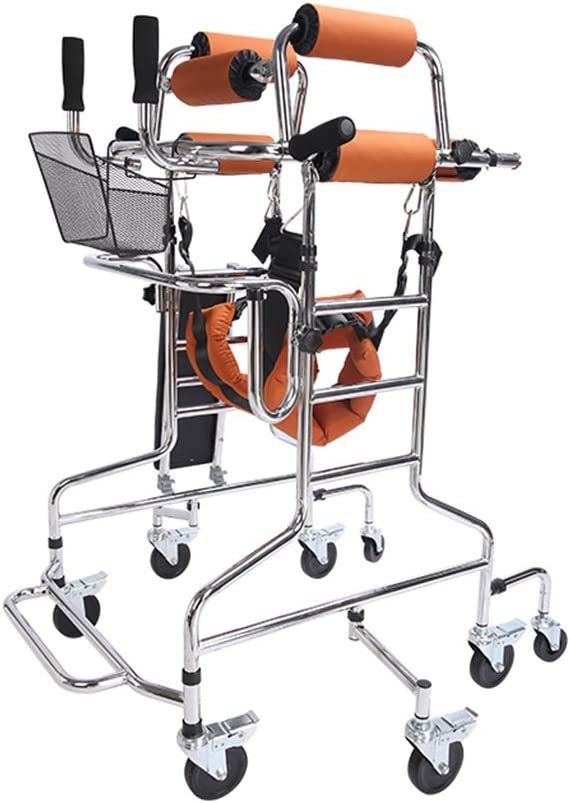 Standing Walk free shipping Stand Aid Walker Frame Now on sale Seat Wheel with