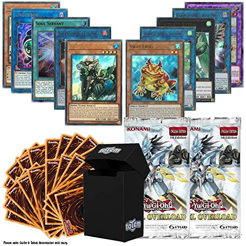 Totem World Legendary Bundle: 10 Ultra Rare and 100 Yugioh Cards with...