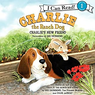 Charlie the Ranch Dog     Charlie's New Friend              By:                                                                                                                                 Ree Drummond                               Narrated by:                                                                                                                                 Ree Drummond                      Length: 6 mins     1 rating     Overall 4.0