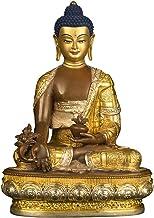 Statue Decoration Medicine Buddha Pure Bronze Buddha Statue Medicine Buddha Worship Ornaments Buddha Statue Decoration