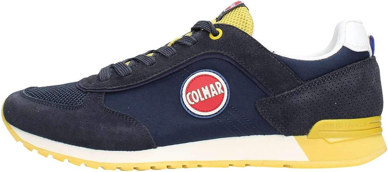 COLMAR TRACOL TRACOL TRACOL Navy gelb blau gelb Schuhe Turnschuhe Mann schnürsenkel  70eaed