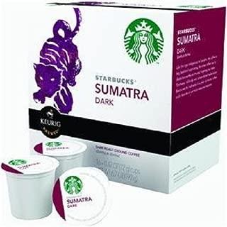 Starbucks Sumatra, K-Cup for Keurig Brewers 16 count, Pack of 10, packaging may vary