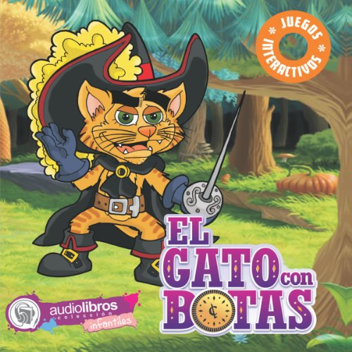 El Gato con Botas [Puss in Boots] audiobook cover art