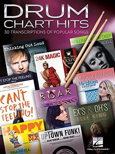 Drum Chart Hits -30 Transcriptions Of Popular Songs-: Noten, Sammelband für Schlagzeug