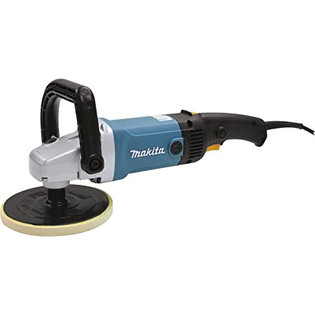 R A Polisher 7 In Rpm 600 3000 10 A 120v Power Angle Grinders Amazon Com
