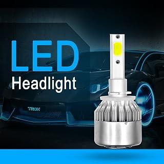 HB3 S2 COB 9005 H10 9145 20000LM Kit di conversione del faro LED Kit fari abbaglianti Fari luminosi HID Lampada alogena HID Sostituzione 6000 K Xenon bianco 1 coppia-H7