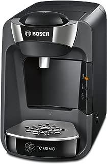 Bosch 博世 TAS 3202 Tassimo T32 SUNY 多功能饮料机 SUNY Midnight Schwarz / Anthrazit