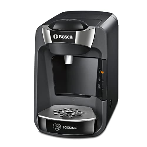 Bosch TAS3202 Tassimo Suny - Cafetera multibebidas automática de cápsulas con sistema SmartStart, color negro