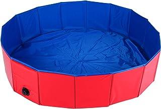 Homend PVC Pet Swimming Pool Portable Foldable Pool Dogs Cats Bathing Tub Bathtub Wash Tub Water Pond Pool