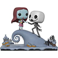 Funko Pop Movie Moment: Nightmare Before Christmas - Jack and Sally On The Hill Collectible...