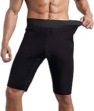 Hhwei Mens neopreen sauna zweet shorts workout broek body shaper afslanken gewichtsverlies broek oefening sportschool