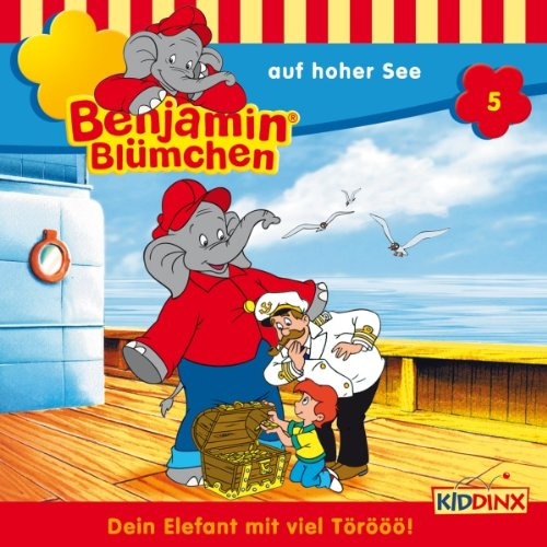 Benjamin auf hoher See cover art